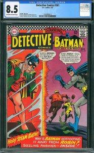 Detective Comics #361 (DC, 1967) CGC 8.5