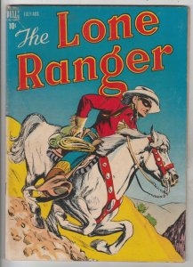 Lone Ranger, The #4 (Jul-48) FN+ Mid-High-Grade The Lone Ranger, Tonto, Silver