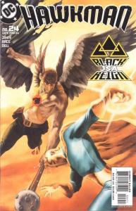 Hawkman (2002 series) #24, NM (Stock photo)