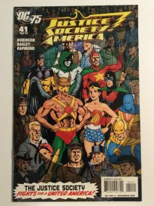 Justice Society Of America #41 (75th Anniversary Variant) DC 2010