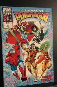 Knights of Pendragon (UK) #6 (1992)