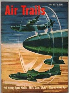 Air Trails 4/1952-aviation news-pix-R3Y-1 Transport-Zboyan-P-38