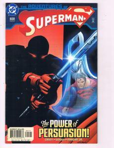 The Adventures Of Superman #601 VF DC Comics Comic Book 2002 DE11