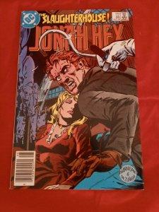 Jonah Hex #86 DC Comics 1984 The Slaughterhouse! VF