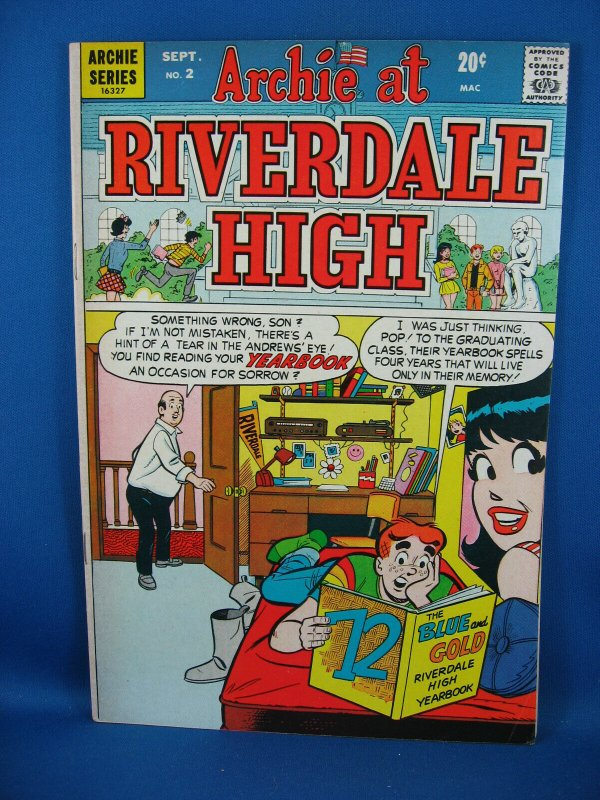 ARCHIE AT RIVERDALE HIGH 2 Fine  1972