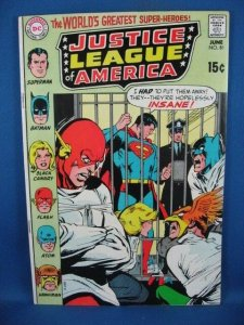 Justice League of America #81 (Jun 1970, DC) VF