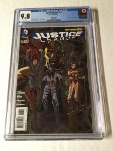 Justice League 28 Cgc 9.8 Steampunk Variant New 52