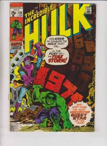 Incredible Hulk #135 FN roy thomas - herb trimpe - kang the conqueror 1971
