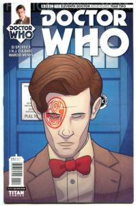 DOCTOR WHO #11 A, NM, 11th, Tardis, 2015, Titan, 1st, more DW in store, Sci-fi