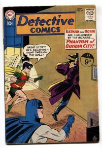 Detective Comics #283 Silver-Age comic book 1960- Batman VG/FN