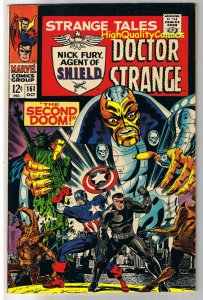 STRANGE TALES 161, VF-, Jim Steranko,Captain America, 1951, more in store