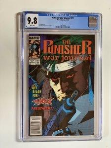 Punisher War Journal 11 Cgc 9.8 Wp Marvel Newsstand Edition