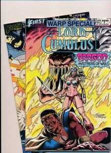 Set of 2-First Comics WARP SPECIAL Lord Cumulus #2 & Chaos#3 VERY FINE (SRU122)