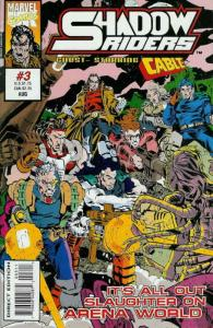 Shadow Riders #3 VF/NM; Marvel UK | save on shipping - details inside