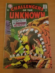 Challengers of the Unknown #59 ~ FINE - VERY FINE VF ~ (1968, DC Comics)