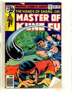 10 Master of Kung Fu Marvel Comics # 69 70 90 92 93 108 109 110 111 112 WS6