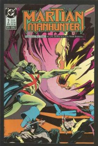 MARTIAN MANHUNTER #2, NM, Badger, DC 1988  more DC in store