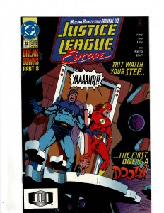 Justice League Europe #32 (1991) SR38
