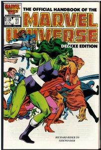 Official Handbook of the Marvel Universe #11 (Marvel, 1986)