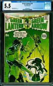 Green Lantern #76 (DC, 1970) CGC 5.5