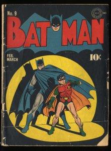 Batman #9 P 0.5 1st Batman Christmas Story!