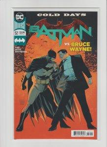Batman #52 NM- 9.2 DC Universe Rebirth  Cold Days Part 2