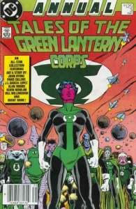 Tales of the Green Lantern Corps (1981 series) Annual #3, VF+ (Stock photo)