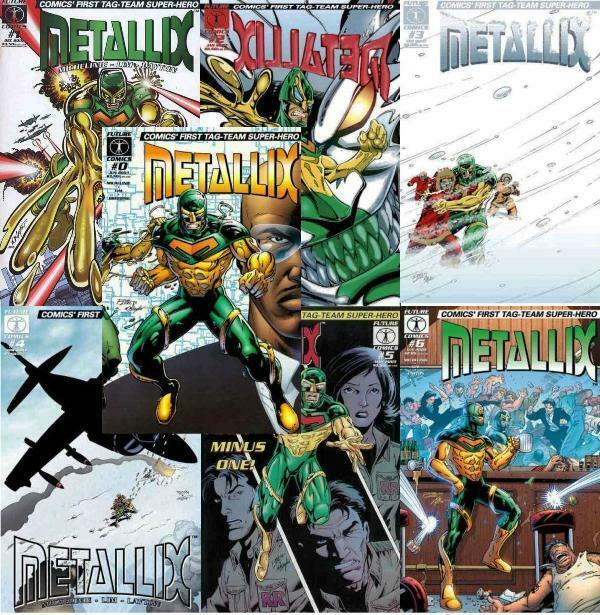 METALLIX (2002 FUTURE) 0-6  the COMPLETE series!