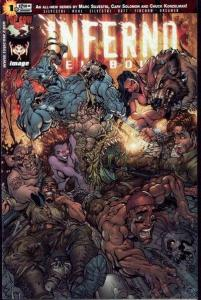 Inferno: Hellbound #1, NM- (Stock photo)