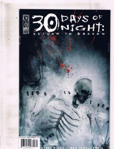 30 Days Of Night Return To Barrow IDW Comics Ltd Ser # 1 2 3 4 NM 1st Print AK6