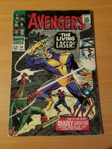 The Avengers #34 ~ FINE - VERY FINE VF ~ (1966, Marvel Comics)