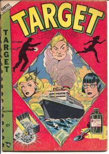 Target Vol. 9 #8 1948-L.B. Cole cover-Gary Stark-Don Rico-VG