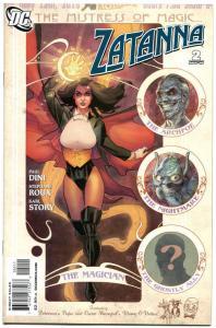 ZATANNA #2, NM, Magic, Paul Dini, Roux, 2010, femme fatale, more in store