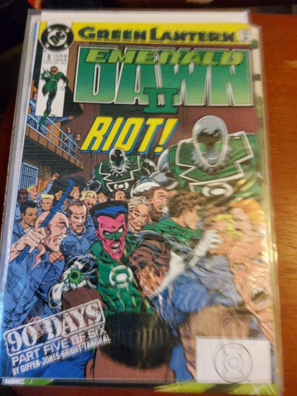 Green Lantern: Emerald Dawn II #5 (1991)