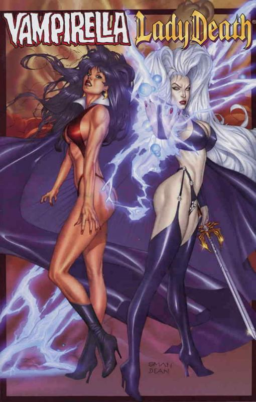 Vampirella/Lady Death #1 VF/NM; Harris | save on shipping - details inside