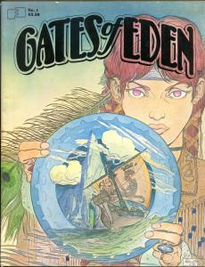 GATES of EDEN Magazine #1, FN, 1982, Craig Russell, Kaluta, Gilbert, Spain