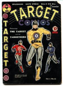 Target Comics v.1 #11 1940- Origin of TARGET and TARGETEERS-Golden-Age