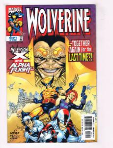 Wolverine #142 FN Marvel Comics Comic Book Larsen Yu X-Men Sept 1999  DE34