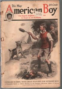 American Boy 5/1919-special outdoor issue-vintage art-pulp fiction-FR/G