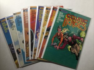 Cosmic Heroes 1 2 3 4 5 6 7 8 9 Very Fine- Near Mint Lot Run Set Eternity Comics