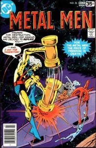 DC METAL MEN (1963 Series) #56 FN