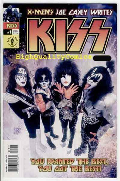 KISS #1, NM+, Rock 'n Roll, Gene Simmons, Photo cv, Stanley, more in store, 2002