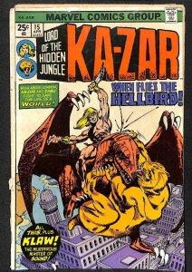 Ka-Zar #15 (1976)