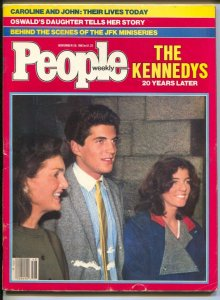 People Weekly 11/23/1983-John F Kennedy-Oswald's Daughter-Caroline Kennedy-VG