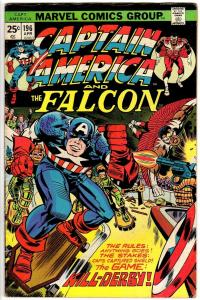 CAPTAIN AMERICA 196 VG-F April 1976 Kirby classics