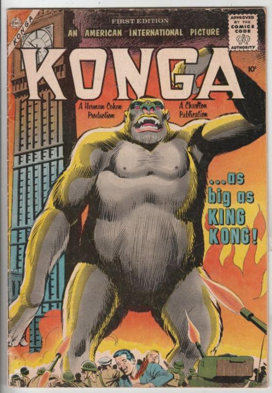Konga #1 (Jan-60) VG+ Affordable-Grade Konga