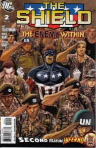 Shield, The #2 VF/NM; DC | save on shipping - details inside