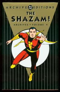 SHAZAM! ARCHIVES VOL 4 HARDCOVER-CC BECK-CAPTAIN MARVEL NM