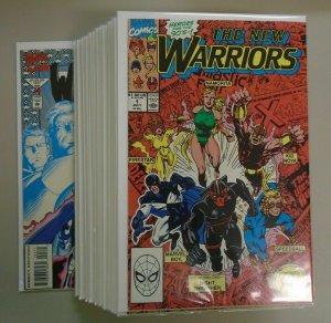 New Warriors (1st Series) Set:#1-45 Average 8.0 VF (1990-94)