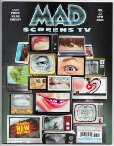 MAD Magazine #12 | TV Parodies | MASH | 30 Rock | Sesame Street (DC, 2020)